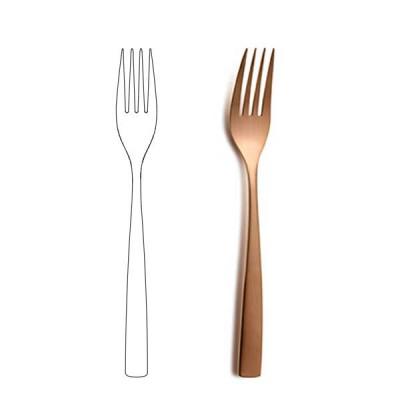 Вилица за основно ястие -BCN Copper