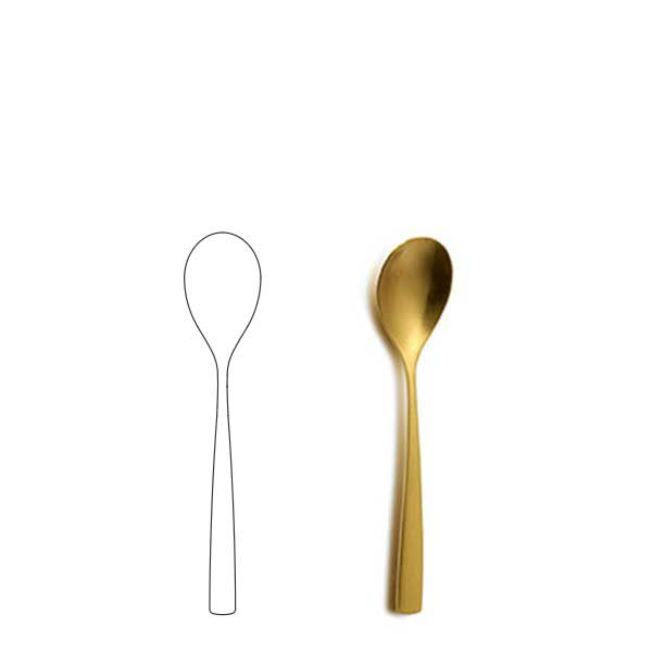 Coffee spoon - BNC Gold