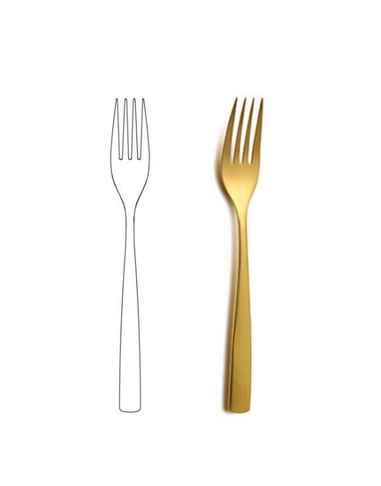 Вилица за основно ястие - BCN Gold