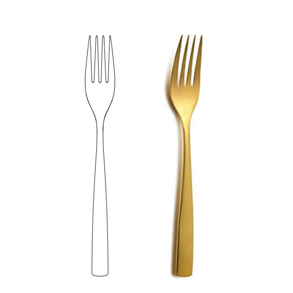 Table Fork - BNC Gold