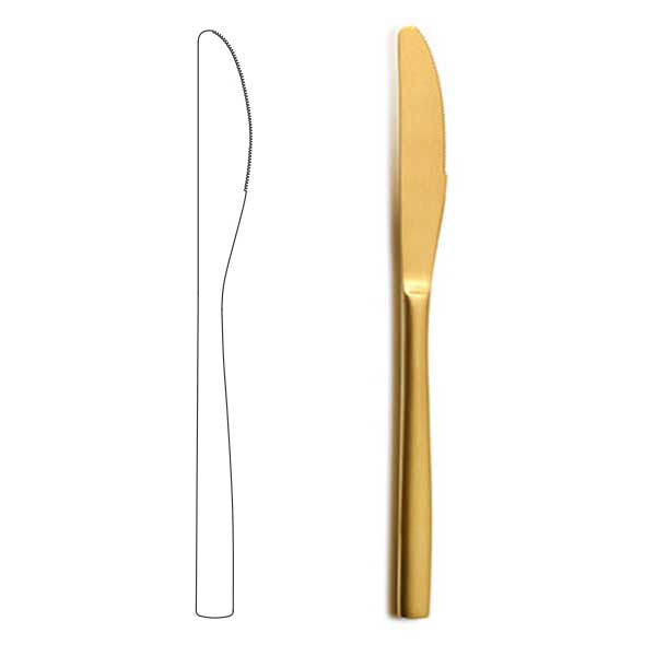 Table Knife - BNC Gold