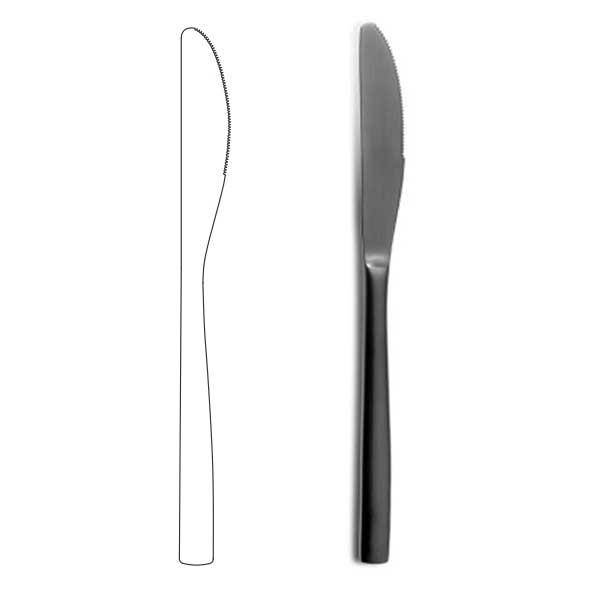 Table Knife - BNC Black