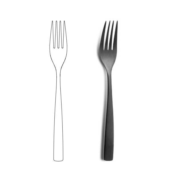Table Fork - BNC Black