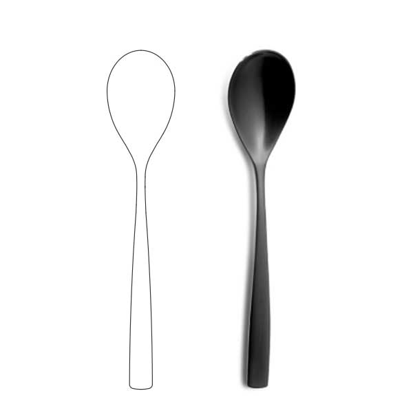 Table Spoon - BNC Black