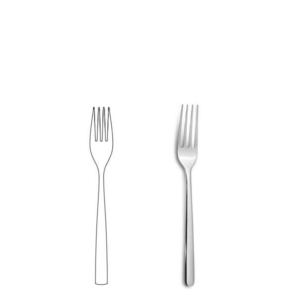 Dessert Fork - Canada