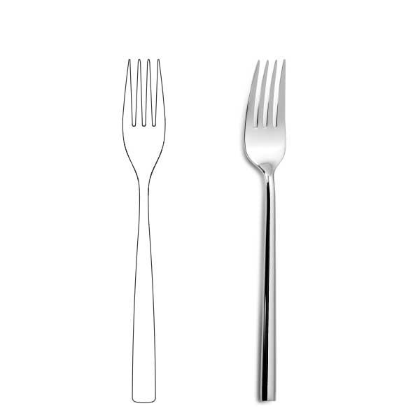 Table fork - Oslo