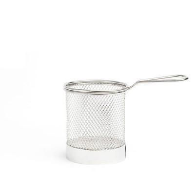 Steel Serving Basket 9 cm
