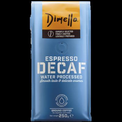 Dimello - Еспресо, мляно кафе Decaf - 250 грама