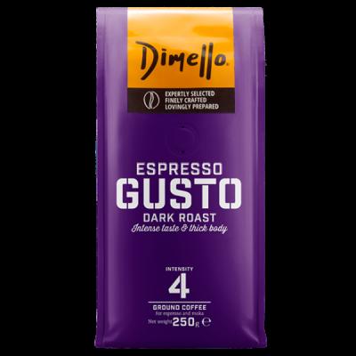 Dimello - Еспресо, мляно кафе Gusto - 250 грама