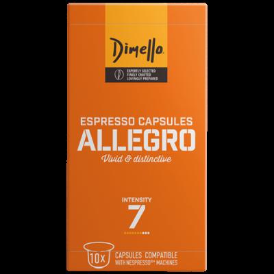 Dimello - NESPRESSO ALLEGRO - 10 капсули