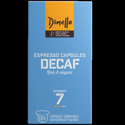 Dimello - NESPRESSO DECAF - 10 капсули
