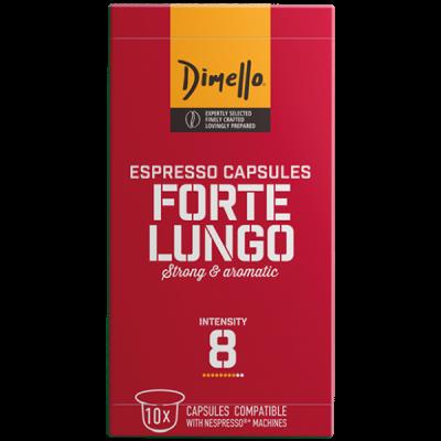 Dimello - NESPRESSO FORTE LUNGO - 10 капсули