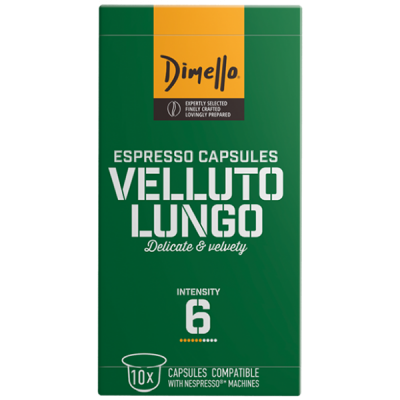 Dimello - NESPRESSO VELLUTO LUNGO - 10 капсули