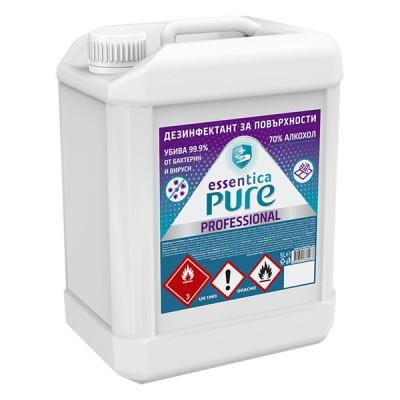 Дезинфектант за повърхности Essentica Pure Professional 5л.