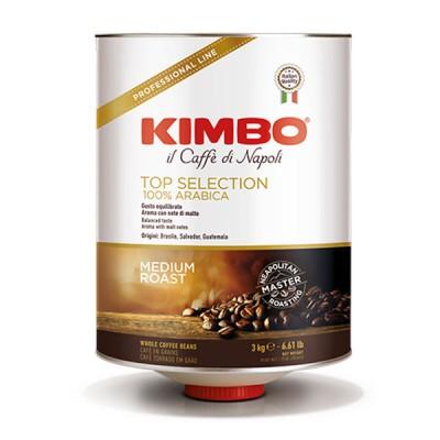 KIMBO 100% ARABICA TOP SELECTION - 3 kg