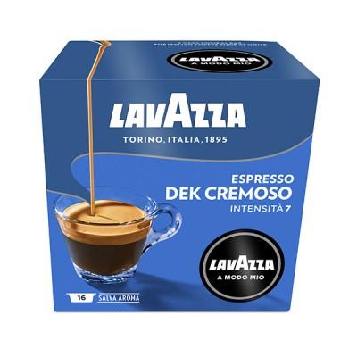 Lavazza - A Modo Mio - DEK Cremosso - 16бр капсули без кофеин