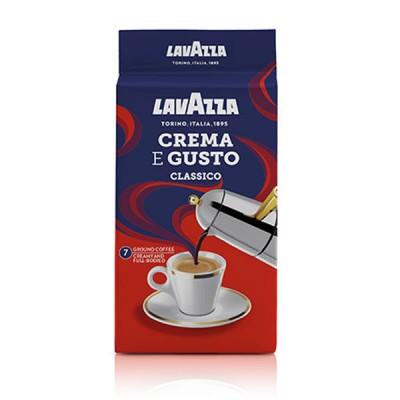 Lavazza - Crema & Gusto Classico - 250 г  мляно вакуум
