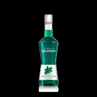 MONIN Green Mint Liqueur 0.7l