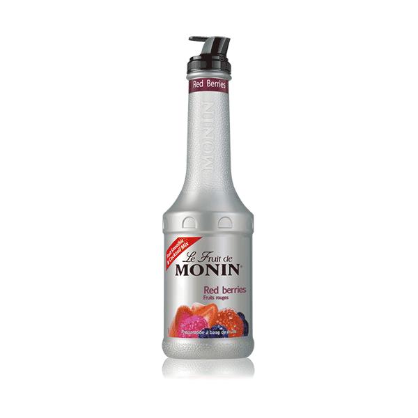 MONIN Пюре Червени Плодове 1l