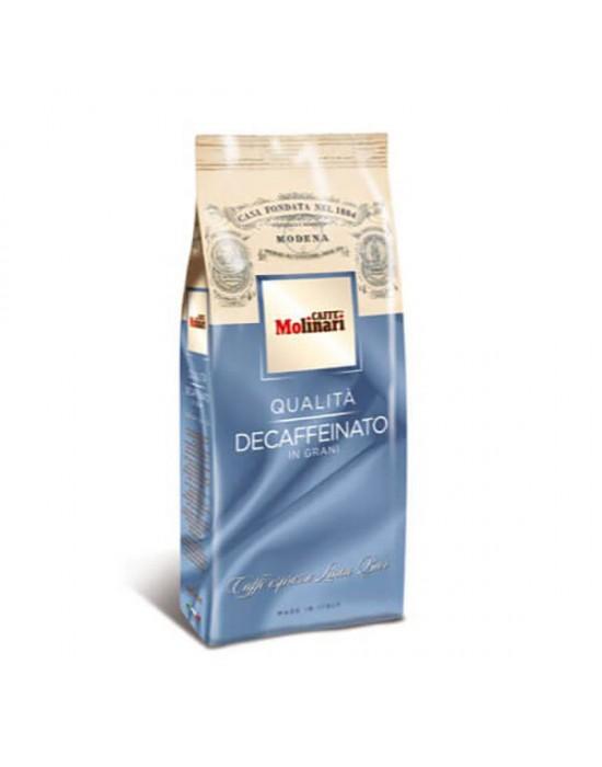 Кафе Molinari на зърна Безкофеин 500 г