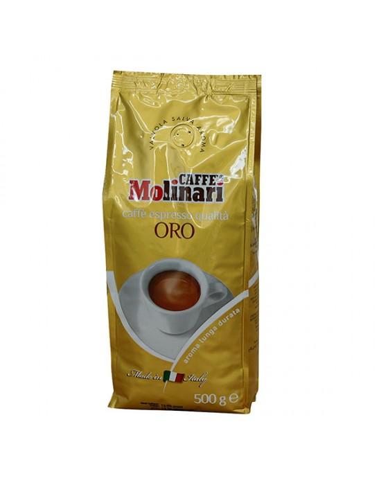 Кафе Molinari на зърна Оро 500 г