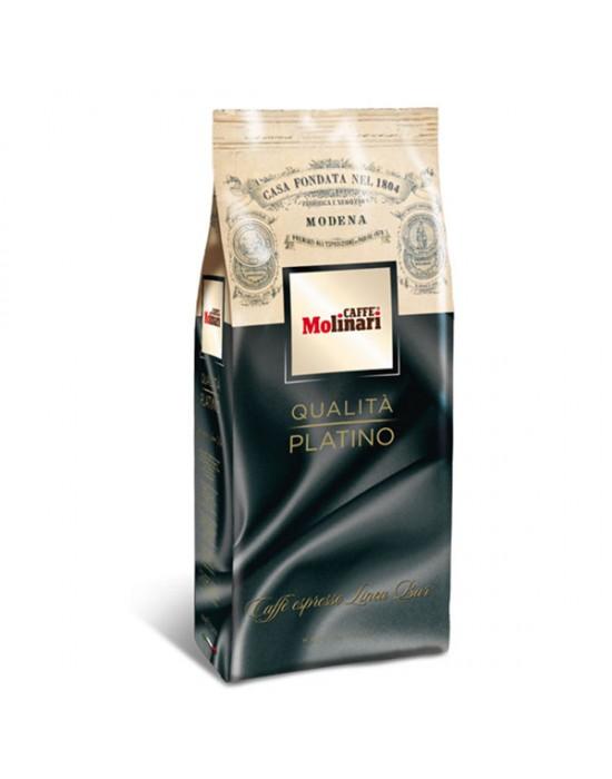 Кафе Molinari на зърна Платино 1кг.
