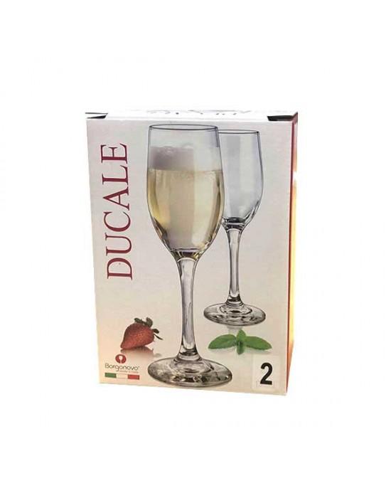 Комплект чаши Ducale 170ml - вино - Borgonovo