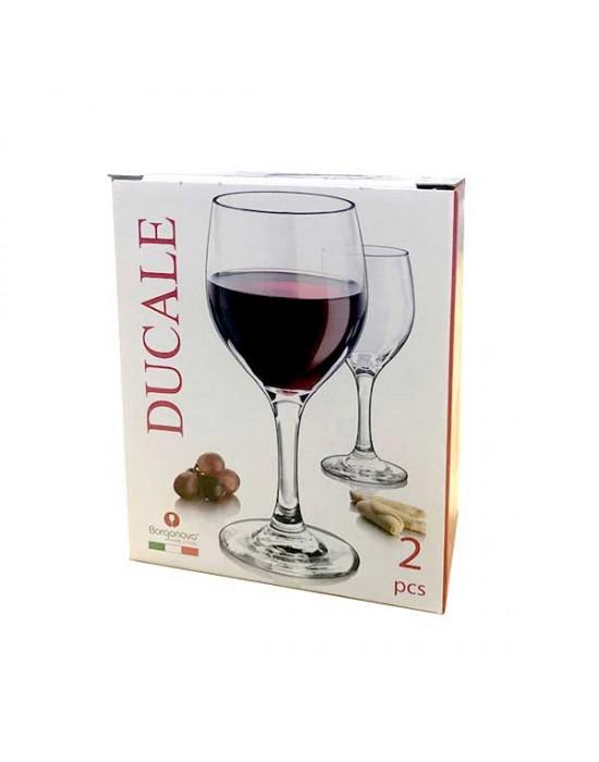 Комплект чаши Ducale 310 ml - вино - Borgonovo