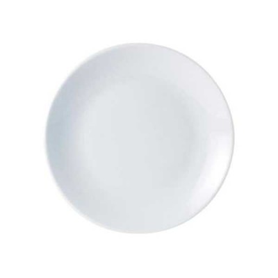 Porcelite coupe plate 26см