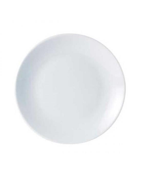 Porcelite coupe plate 28cm