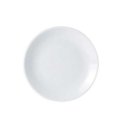 Porcelite coupe plate 22cm
