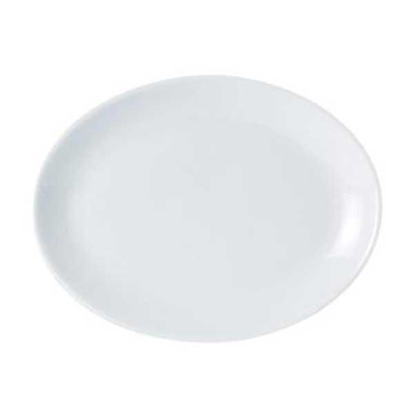 Porcelite Oval Plate 36cm