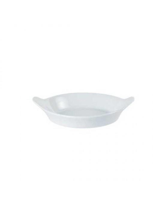Porcelite Round Eared Dish 18cm