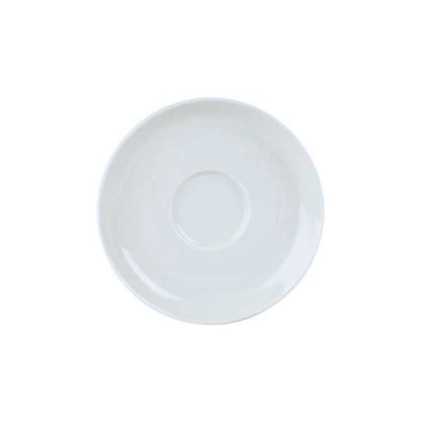 Porcelite large saucer 17cm