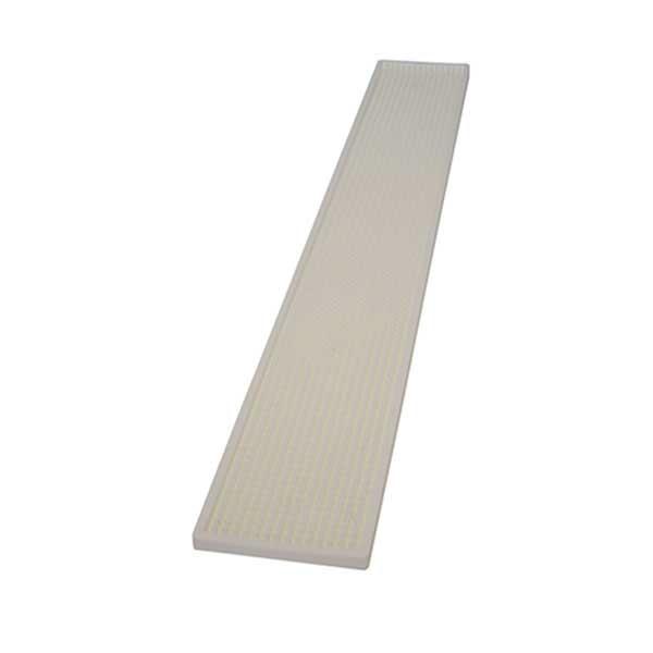 Бар мат 10x70cm Бял - The Bars