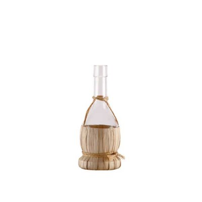 Chianti Glass Bottle with straw basket 250 ml - The Bars
