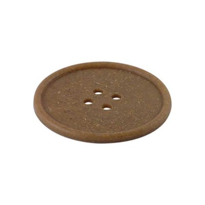 Button Drink Coaster wood - The Bars