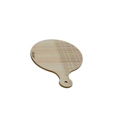 Дървена дъска за рязане кръгла - The Bars