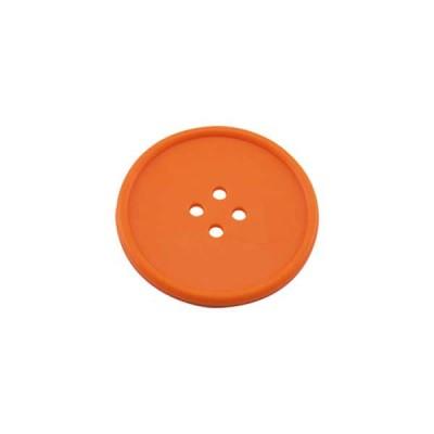 Button Drink Coaster Orange - The Bars