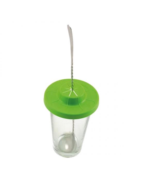 Капак за чаша за миксиране - зелен - The Bars