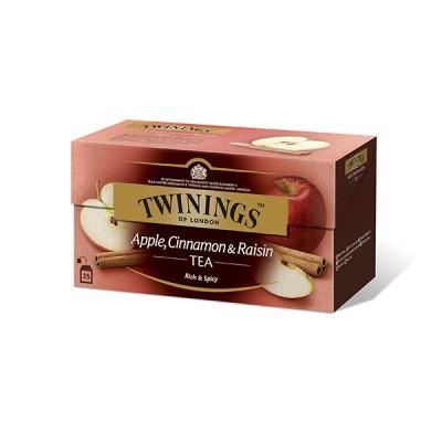 TWININGS - ЯБЪЛКА,КАНЕЛА и СТАФИДИ - черен чай