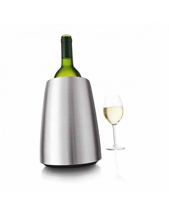 VacuVin настолен охладител за вино Инокс