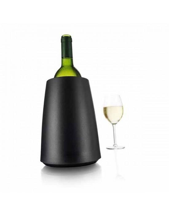 VacuVin настолен охладител за вино черен ЕЛЕГАНТ