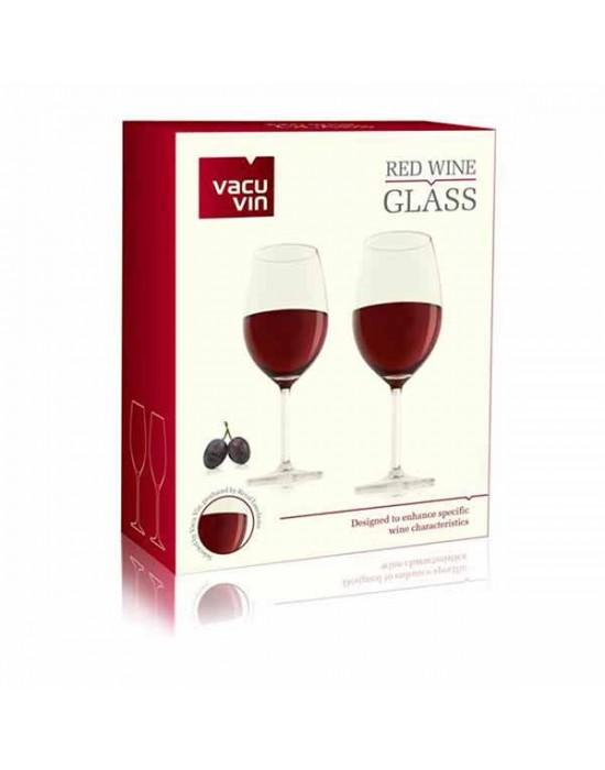 VacuVin чаши за червено вино 2 броя
