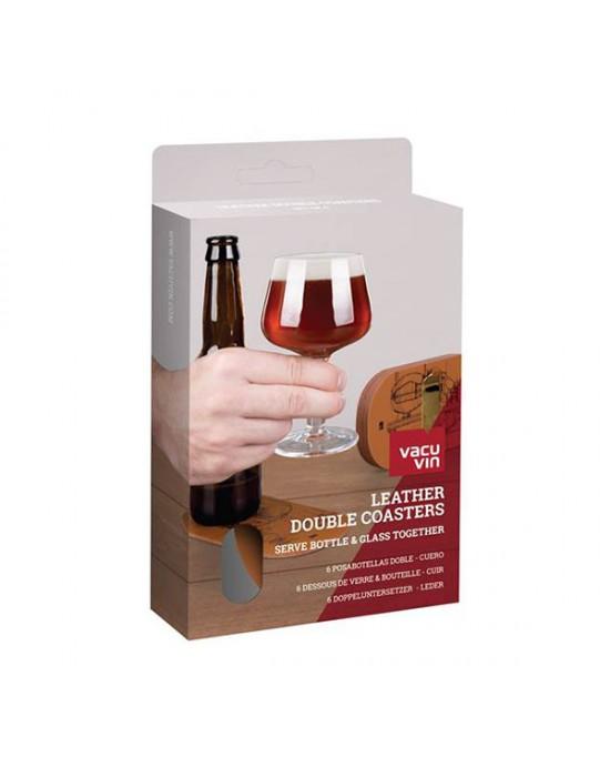 VacuVin подложки за бира 6 ч