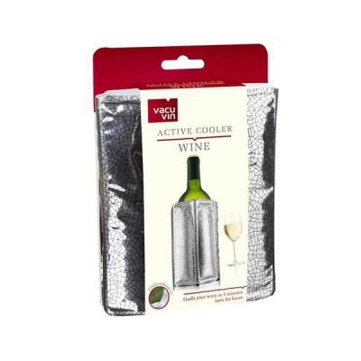 VacuVin охладител за вино Active cooler Silver