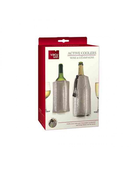 VacuVin охладител за Вино и Шампанско 2-ка Platinium