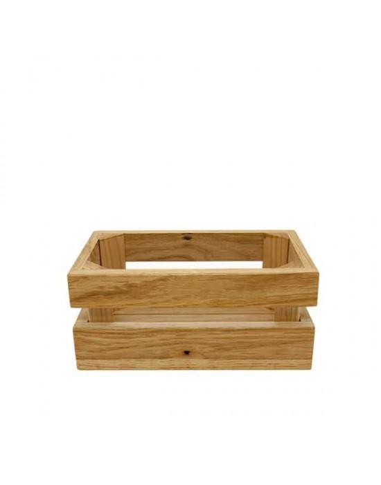 Дървена щайга за комплектен прибор