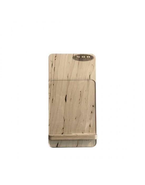 Дървена поставка за меню