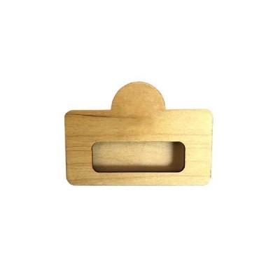 Wooden badge